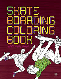 skateboarding-coloring-book