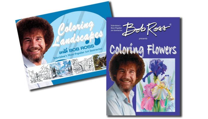Bob Ross Coloring Books Art Materials Retailer